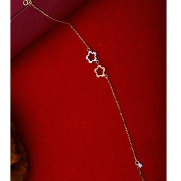 18Kt Rose Gold Flower Bracelet Design RHJ-1219