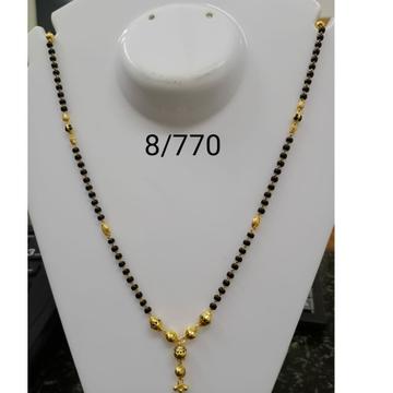 916 Gold Daliy Wear Dokiya Mangalsutra RH-MS16