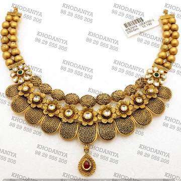 haar Kundan Set 916 Bridal Set gold Jewelry  by