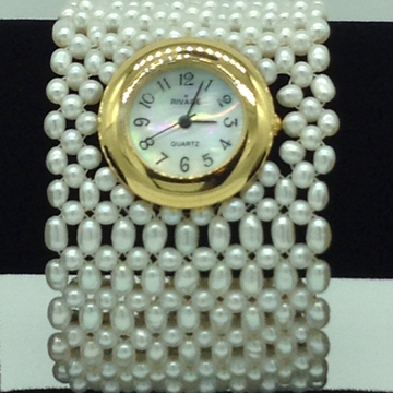 Freshwater Rice Jali Pearls Watch JBG0213