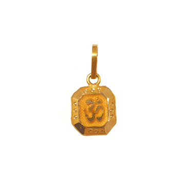 18K Gold Om Pendant MGA - PDG0188