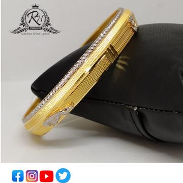 22 carat gold antique gents kada RH-GK420