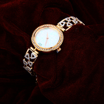 Ladies Rose Gold Wedding Watch-RLW18