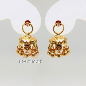 Gold Detachable Earring Jumar SK - E016