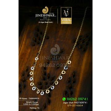 18kt Fancy Plain Gold Women's Tanmaniya DKG -0049