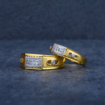 Gold Couple Ring-CR34