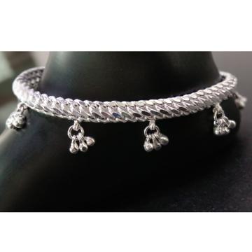 999 Silver Designer Ghughari Payal RJ-013