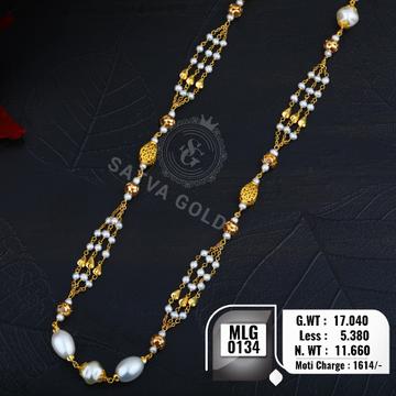 916 gold mala MLG-0134