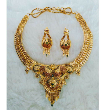 Gold necklace  set butii Fancy by