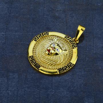 Men's Exclusive 916 Lion Heavy Gold Pendant- MHP07