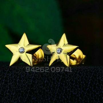 18kt Fancy Plain Star Shape beby Tops ATG -0519