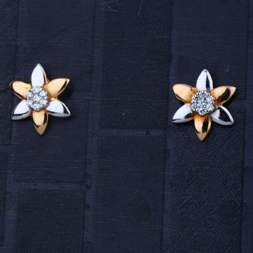 916 Gold Parity Design Earring