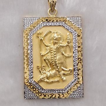 916 Gold Fancy Gent's Mahakali Maa Pendant