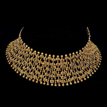 22KT Gold Gorgeous Choker Collection For Bride