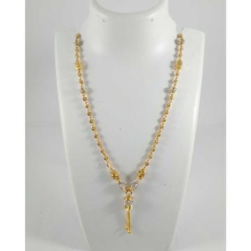 22 K Gold Pendant Chain NJ-P0112