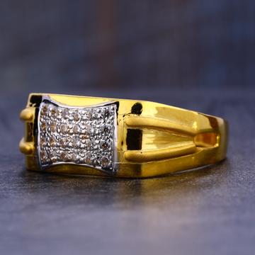 22KT Gold Cz  Stylish Gentlemen's Ring MR668