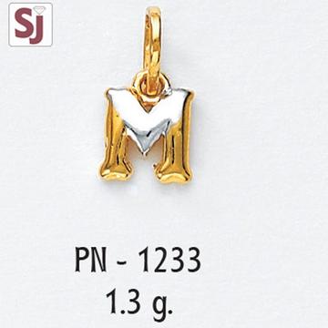Alphabet Pendant PN-1233