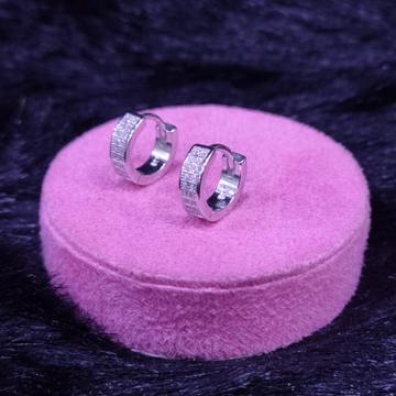 92.5 Sterling Silver Ayson Cz Stone Earring For Women