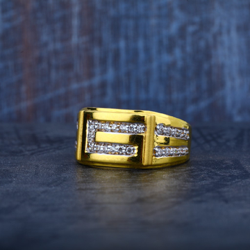 Mens Exclusive 916 Gold Fancy Ring-MR27