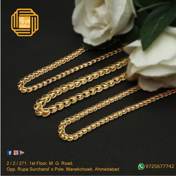 916 Gold Fancy Chain For Men JC-C007