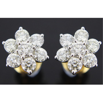 916 gold delicate diamond earring gk-e06