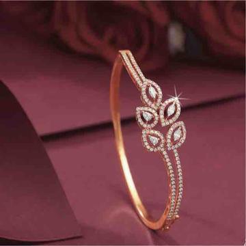 18KT Pink Gold Fancy Diamond Bracelet by