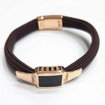 18 ct rose gold bracelet for gents by