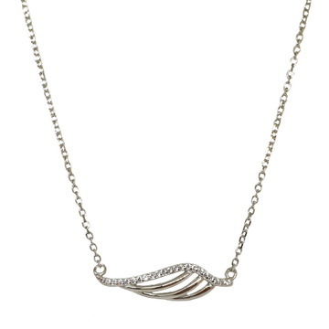 925 Sterling Silver Modern Chain Necklace MGA - CHS1827