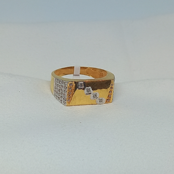 18kt Gents ring by Rangila Jewellers