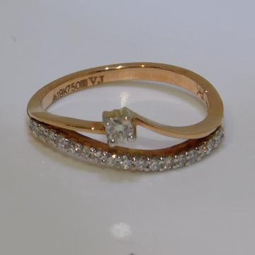 18K gold diamond ring agj-lr-262