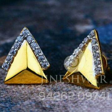 18kt Cz Gold Precious Ladies Tops ATG -0689
