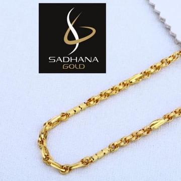 916 Gold Hallmark Gents Chain  by