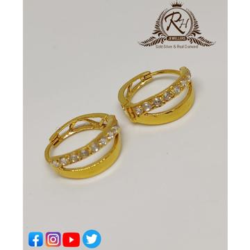 22 carat gold daimond ladies earrings RH-ER256