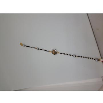 916 Gold Antique Mangalsutra Bracelet IO-B009