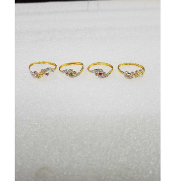 916 Plain Gold Designer Ladies Ring