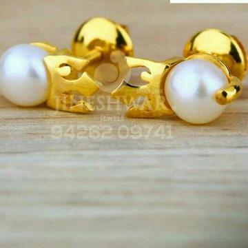 916 Fancy Gold Prarl Moti Tops STG -0045