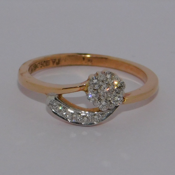 18K gold diamond ring agj-lr-263