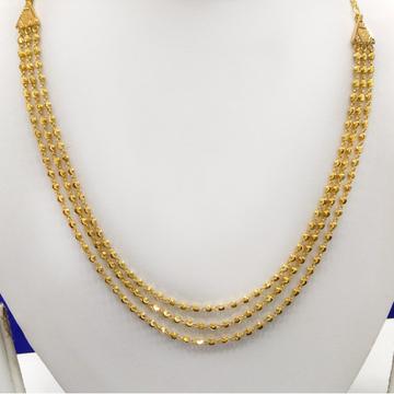 22Kt Gold Bead 3 Layer Mala
