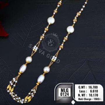 916 gold mala MLG-0124