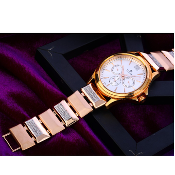 750 Rose Gold Mens Watch RMW09