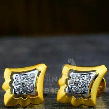 18kt Exclusive Fancy Cz Gold Ladies Tops ATG -0245