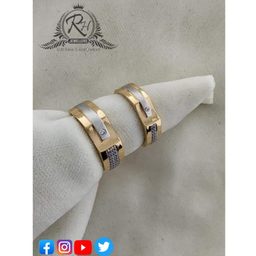 22 carat gold classical couple rings RH-CR412