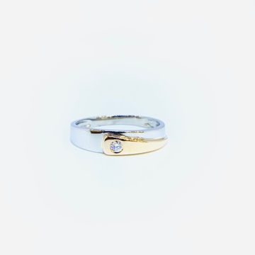 FANCY PLATINUM RING FOR LADIES by