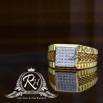 22 carat gold fancy gents rings RH-GR841