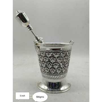 Sterling Silver Holi Special Balti (Doll) & Pichka... by