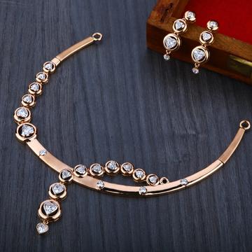 750   Rose Gold  Women's Necklace Set RN08
