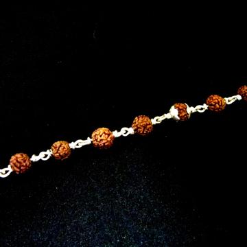 Silver Gents Rudrax Bracelet
