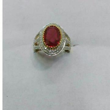 22K/916 Gold Fancy Single Stone Ring