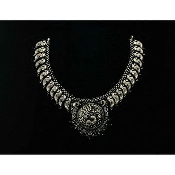 92.5 Sterling Silver Half Oxodize Milan Chain Neck... by