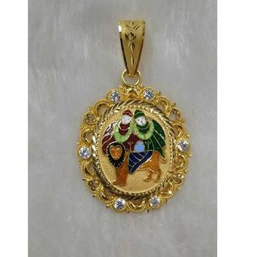Chamunda ma gold Pendant
